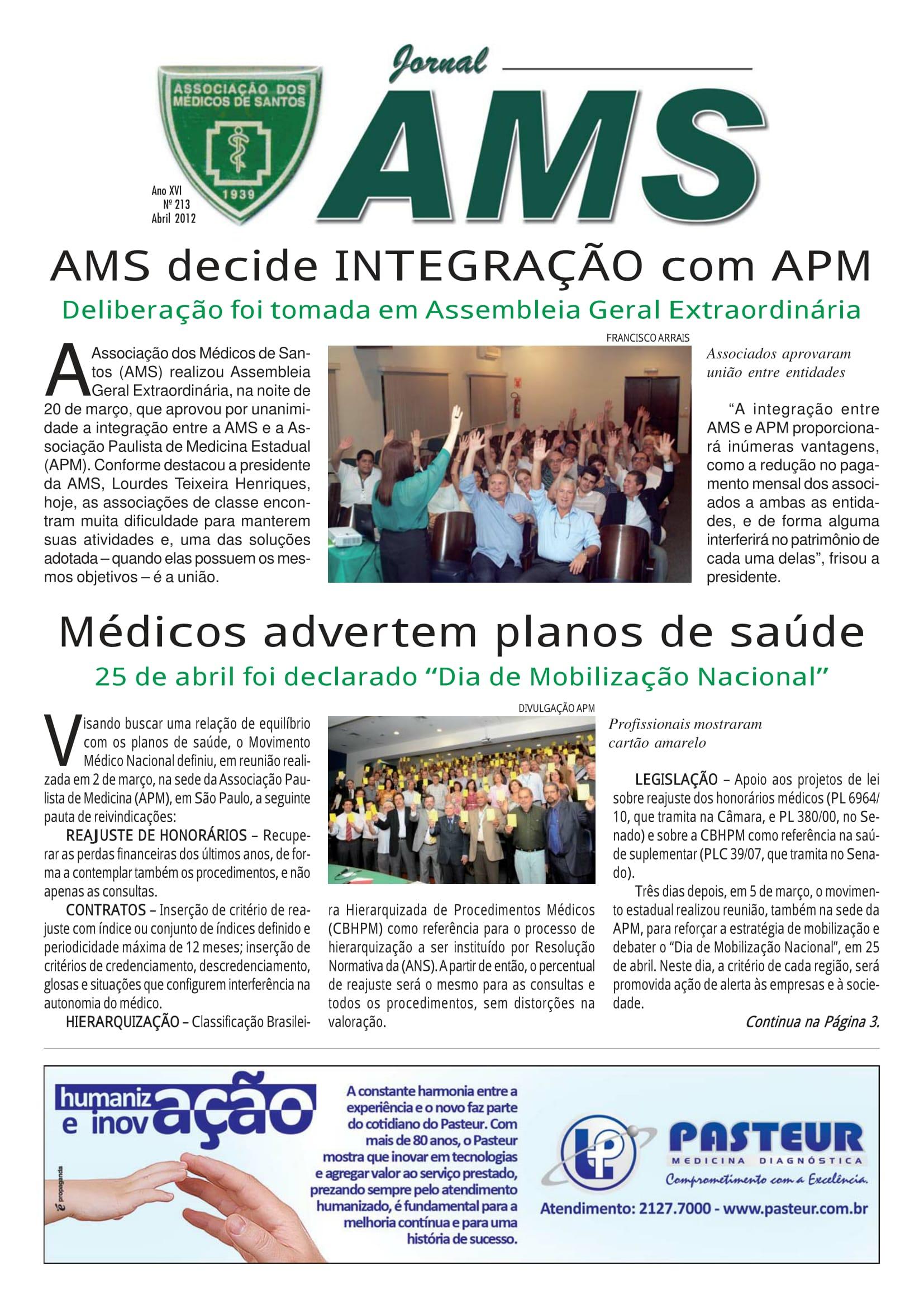 Nº 213 Abril 2012