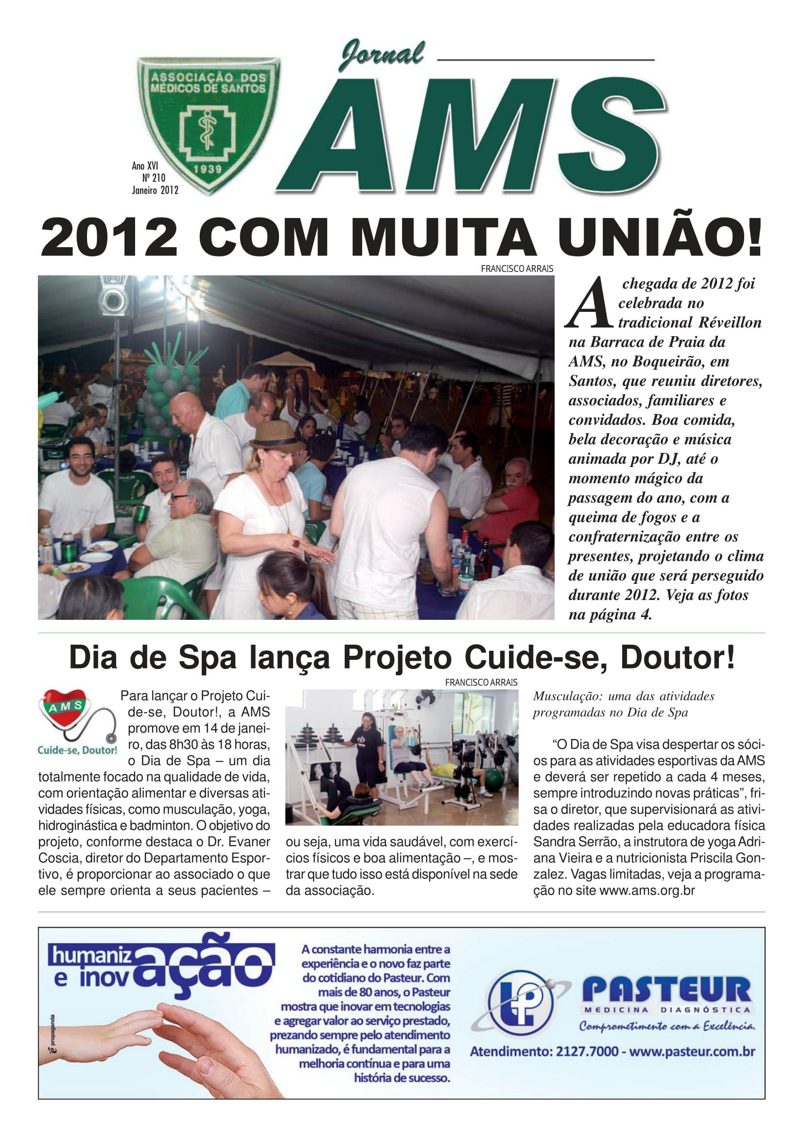 Nº 210 Janeiro 2012