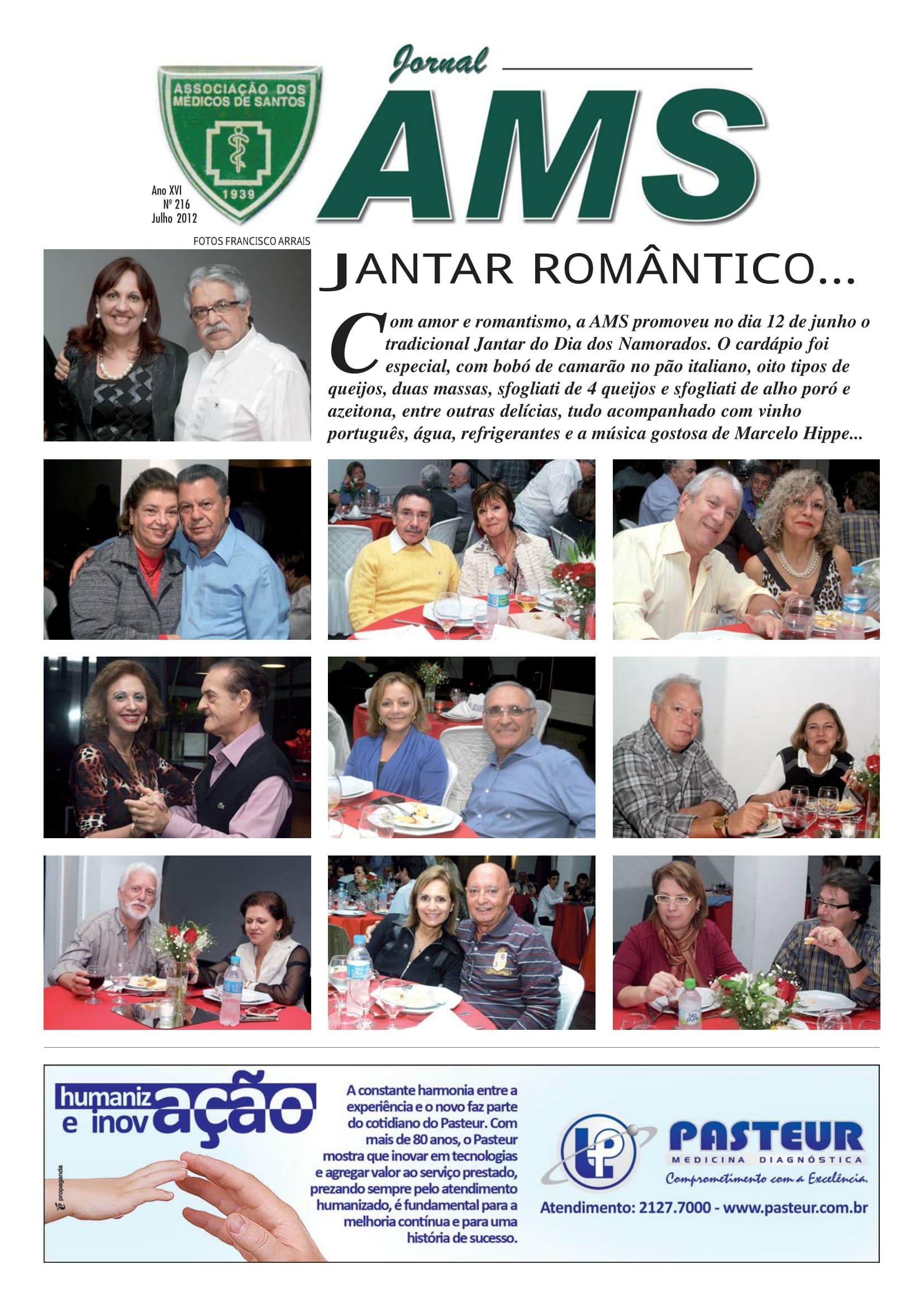 Nº 216 Julho 2012