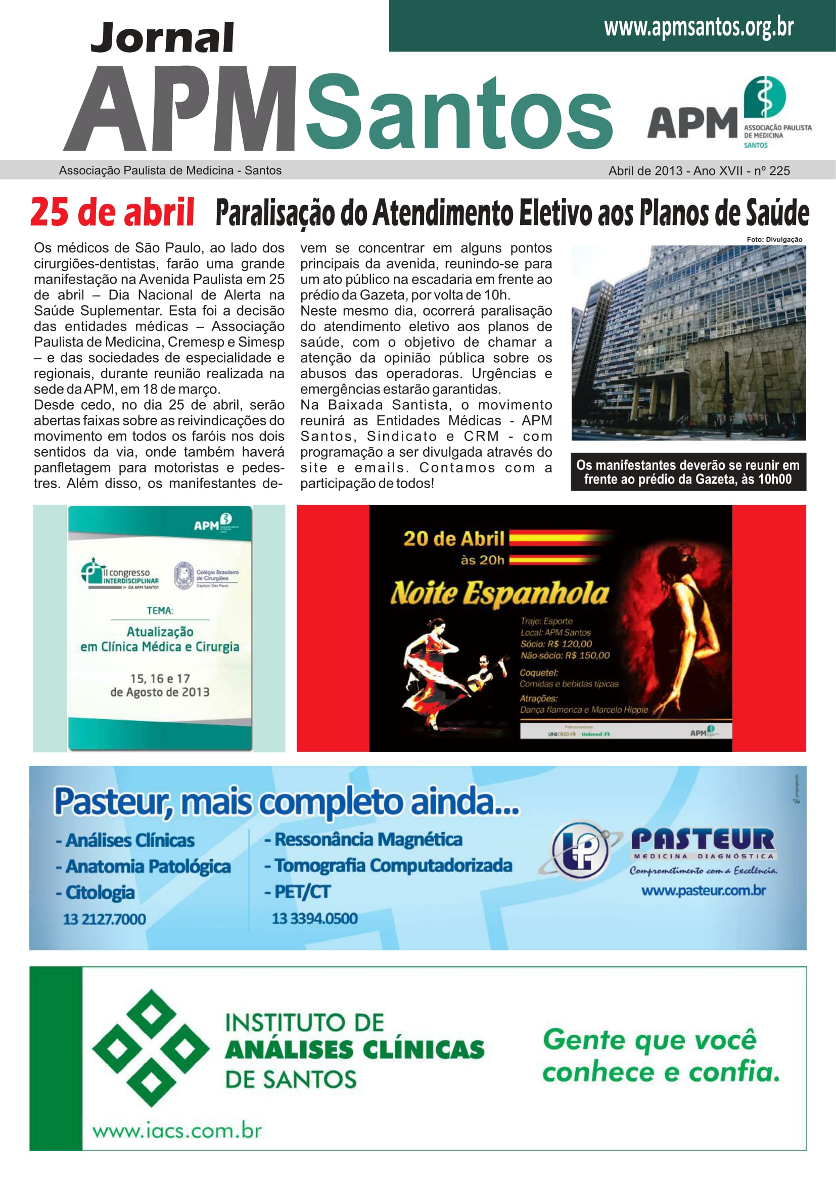 nº 225 Abril 2013