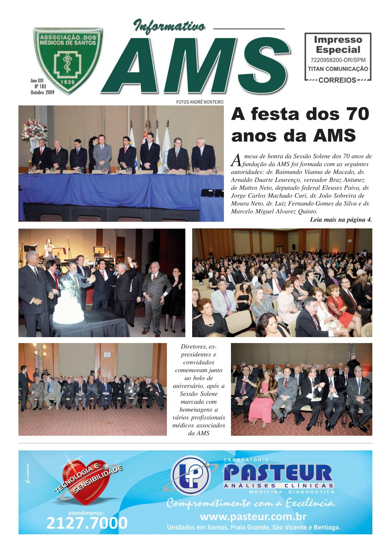 Nº 183 Outubro 2009