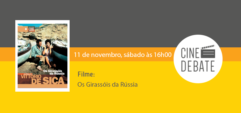 Cine Debate em novembro
